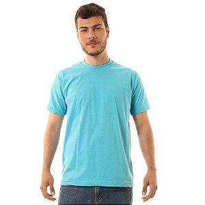 Camiseta Básica Oitavo Ato Azul Turquesa