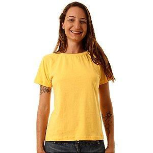 Camiseta Básica Baby Look Oitavo Ato Amarelo