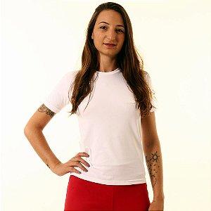 Camiseta Básica Baby Look Oitavo Ato Branco