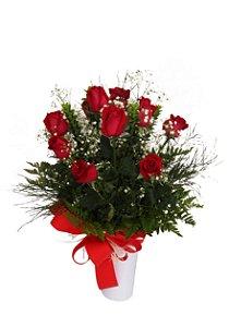Buquê Grande de Rosas Vermelhas