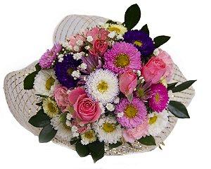 Mini Buquê Mix de Flores
