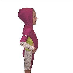Roupinha Infantil Com Proteção Solar - Macaquinho Baby Feminino Mormaii