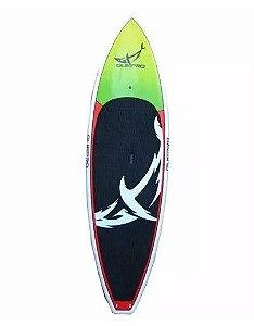 Prancha De Stand Up Paddle 9'4 Verde/Vermelha - Guepro