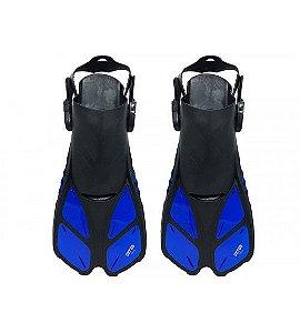 Nadadeira Para Natação Regulável Gills Azul - Cetus