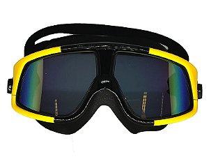 Óculos de Natação Snook Amarelo - Cetus