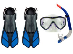 Kit para Mergulho Gills Máscara+Nadadeira+Snorkel - Cetus