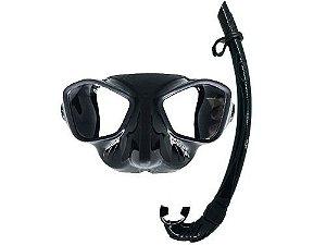 Kit Mergulho Gotham Máscara+Snorkel Pesca Sub - Cetus