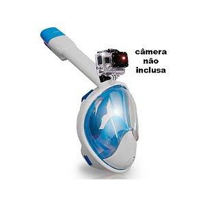 Máscara de Mergulho Full Face GoPro Libertad - Cetus