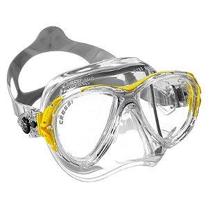 Máscara de Mergulho Silicone Eyes Evo Crystal - Cressi