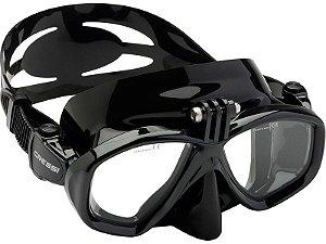 Máscara de Mergulho Silicone GoPro Action - Cressi