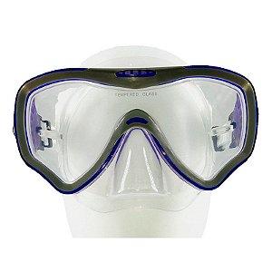 Máscara de Mergulho Silicone New Parma - Cetus
