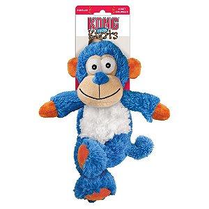 Brinquedo de pelúcia Kong Cross Knots Macaco Azul