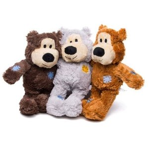 Brinquedo de Pelúcia Kong Wild Knots Urso