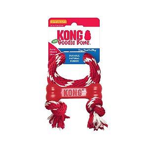 Brinquedo Goodie Bone with Rope - Kong (Tamanho PP)