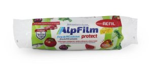 REFIL de Filme PVC - Plástico Filme Esticável para Caixa Trilho Semiprofissional - 300m x 28cm