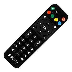 Controle Remoto Receptor Supertv Black Edition