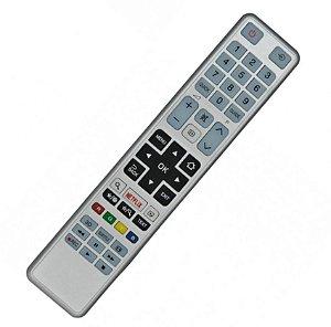 Controle Remoto TV Toshiba 40S3653DB com Netflix