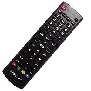 Controle Remoto Receptor Freesky Rak HD