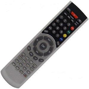 Controle Remoto Receptor Azamérica F92 Plus HD