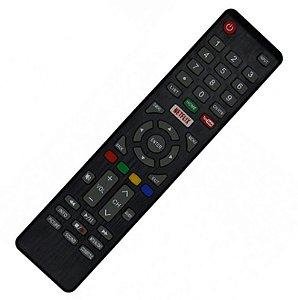 Controle Remoto Smart TV Cobia DLED 4K CTV50UHDSM