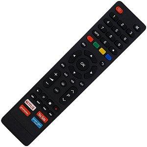 Controle Remoto TV LED Philco PTV32N5SE10H com Netflix / Youtube / Globo Play / Prime Vídeo