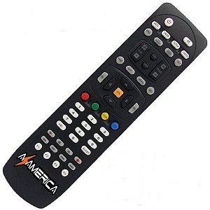 Controle Remoto Receptor Azamérica S1007+ Plus HD