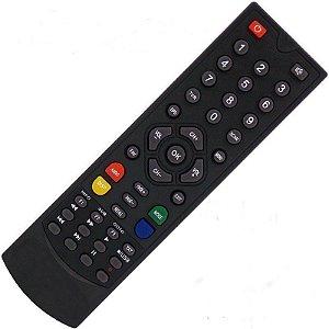 Controle Remoto Receptor Globalsat Gs300 HD