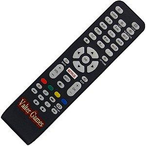 Controle Remoto TV LED AOC LE43S5970  com Netflix