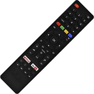 Controle Remoto TV LED Philco PTV55F61SNC 4K com Netflix e Youtube (Smart TV)