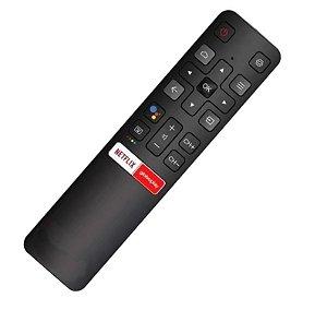 Controle Remoto Tcl Tv Smart Rc802v 55p8m Netflix Globoplay