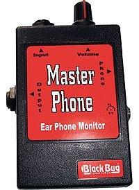 Amplificador para fone Black Bug Master Phone