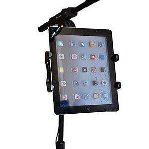 Suporte de Tablet para Pedestal de Microfone De 7 a 10.1 polegadas