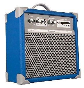 Caixa de Som Amplificada Multiuso UP!6 FM/USB/BLUETOOTH - Azul