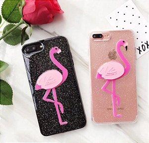 Case flamingo