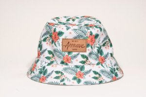 White Floral Bucket - Dupla Face