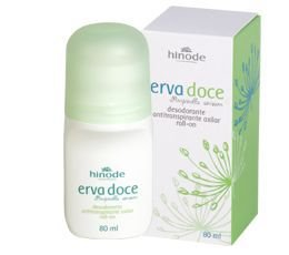 Erva Doce Desodorante Antitranspirante Roll-On 80Ml