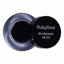 Delineador Em Gel Black Ruby Rose