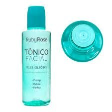 TONICO FACIAL PELE OLEOSAS RUBY ROSE