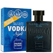 Vodka Night Paris Elysees - Perfume Masculino - Eau de Toilette - 100ml ( Bleu - Chanel )