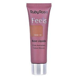 Base Feels Cacau 90 - Ruby Rose