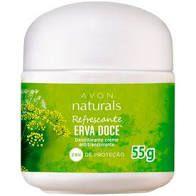 desodorante em creme erva doce