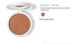 Pó compacto color trend tropicana médio