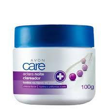 Creme Facial Avon Care Aclara Noite 100g