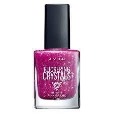 Esmalte Crystals pink brilho