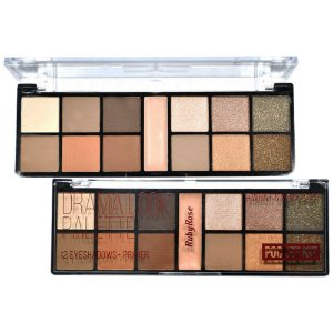 Paleta de Sombras + Primer Pocket Drama Look Ruby Rose HB-9963