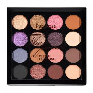 Paleta de Sombras + Primer The Flowers Ruby Rose HB-1018