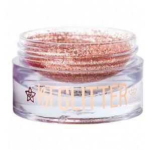 BT Glitter Rose Gold Coleção Melrose Linha Bruna Tavares