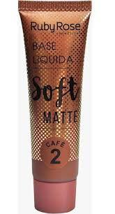 Base Líquida Soft Matte Café 2