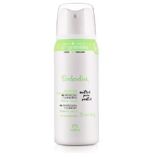Natura Todo Dia (Frescor Natural) - Desodorante Antitranspirante Aerossol Feminino 75 Ml