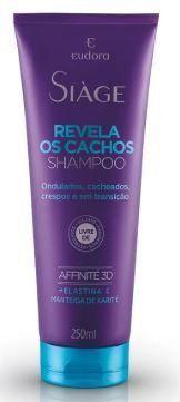 Shampoo siàge revela cachos 250ml